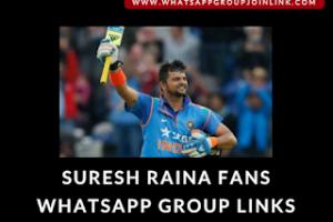 suresh raina whatsapp group links